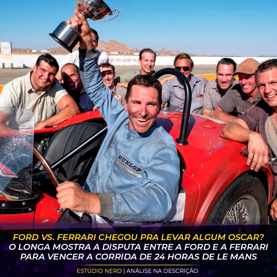 E Um Filme Tao Bom Assim Fomos Assistir Ford Vs Ferrari E Essa