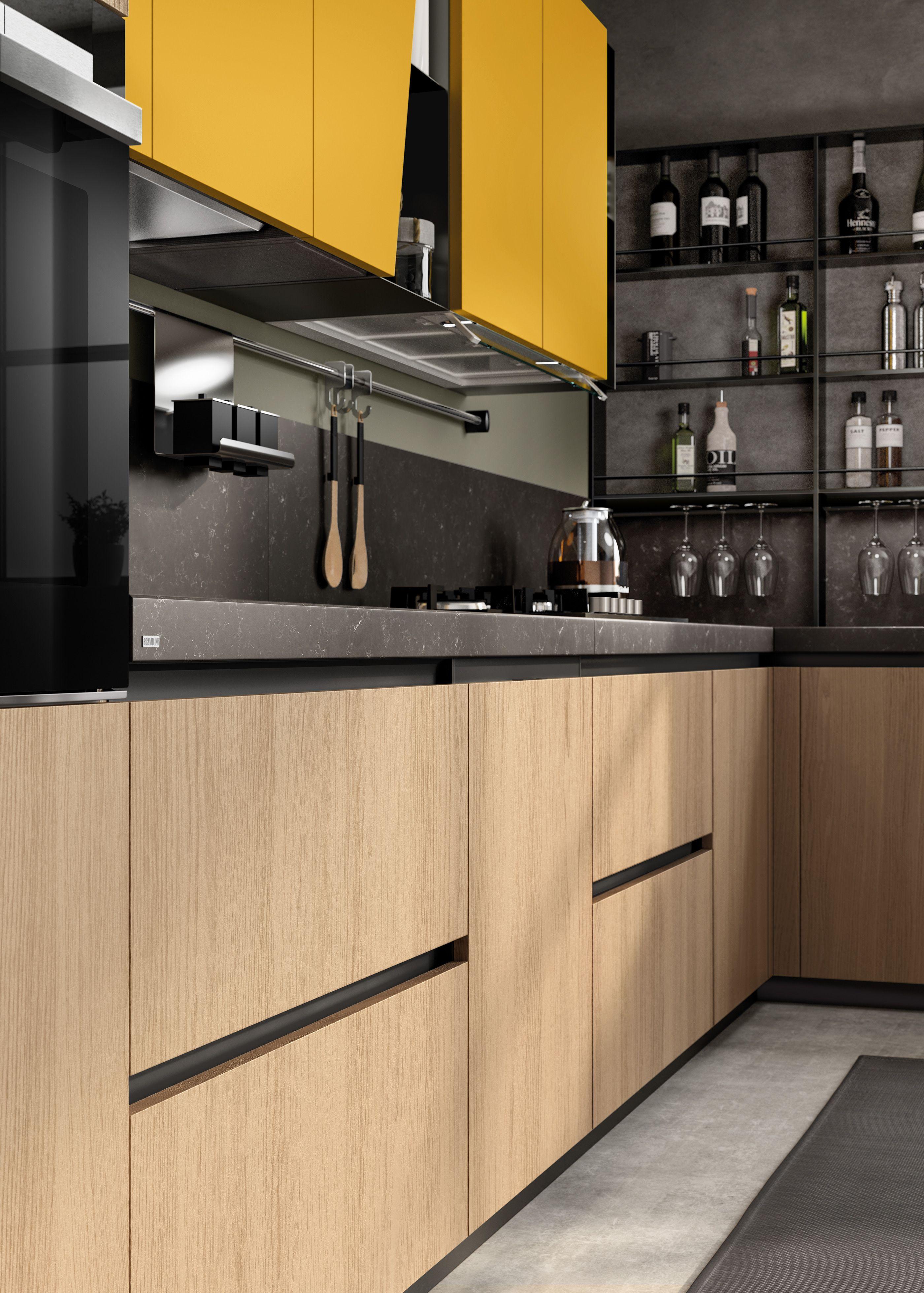 Kitchen 2019 on Behance in 2020 Kitchen interior design