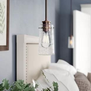 Andover Mills Pigg 1 Light Single Cylinder Pendant Birch Lane Traditional Pendant Lighting Vintage Industrial Design Light
