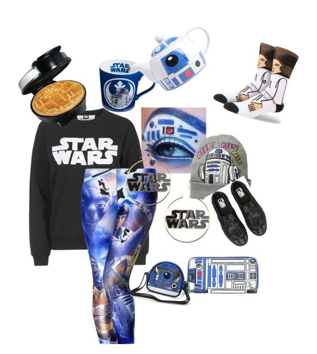 """""""Star Wars"""" by duhitzmarksgirlfriend on Polyvore featuring Topshop, R2 and Vans"""