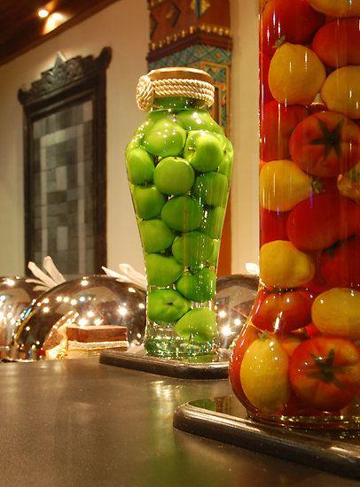 Decorative Bottles By Charuhas Images Bottles Decoration Diy Kitchen Decor Fruit Centerpieces