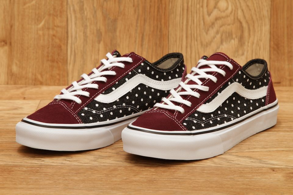 VANS STYLE 36 SLIM WASHED DOTS / PORT ROYALE £51.95