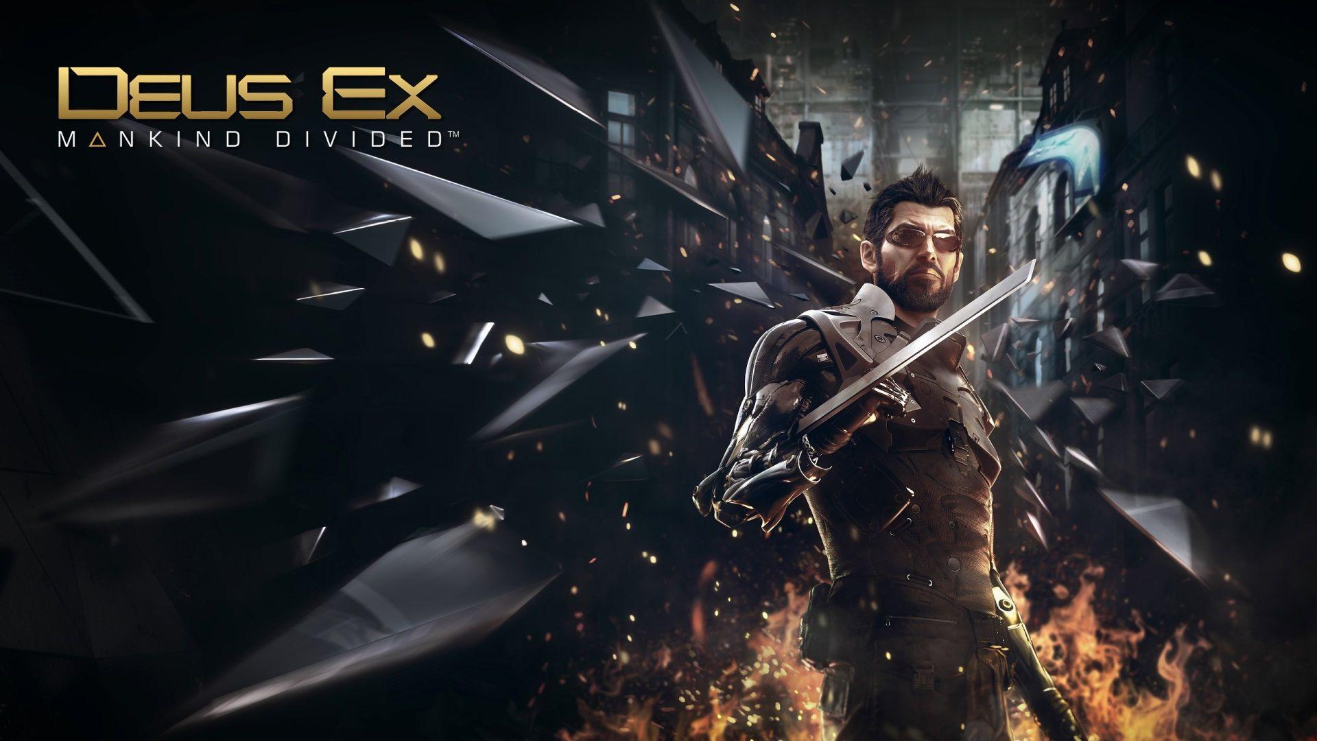1920x1080 Adam Jensen Most Popular Wallpaper For Desktop Deus Ex Mankind Divided Deus Ex Mankind Deus Ex