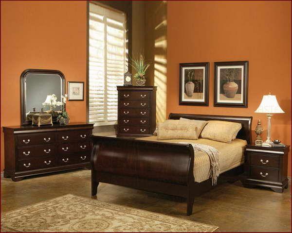 Bedroom Paint Colors With Cherry Furniture Home Delightful Cherry Bedroom Furniture Traditional Bedroom Design Sleigh Bedroom Set