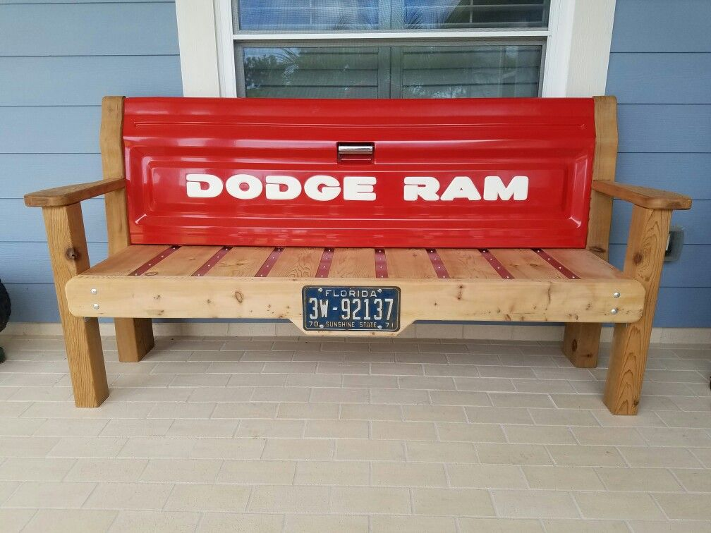 Dodge Ram Tailgate Bench Bench In 2019 Tailgate Bench