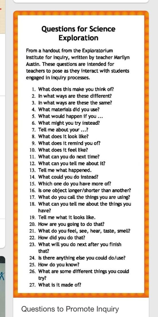 Twitter Inquiry Based Learning Activities Early Childhood Education Resources Preschool Science