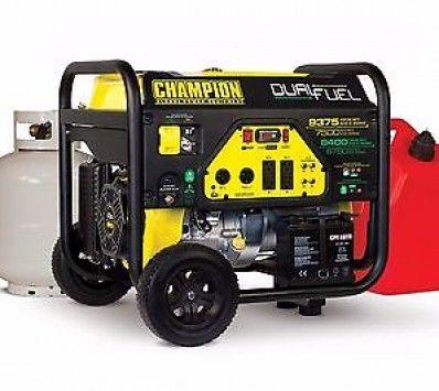Dual Fuel Generator Dual Fuel Generator Portable Generator Best Portable Generator