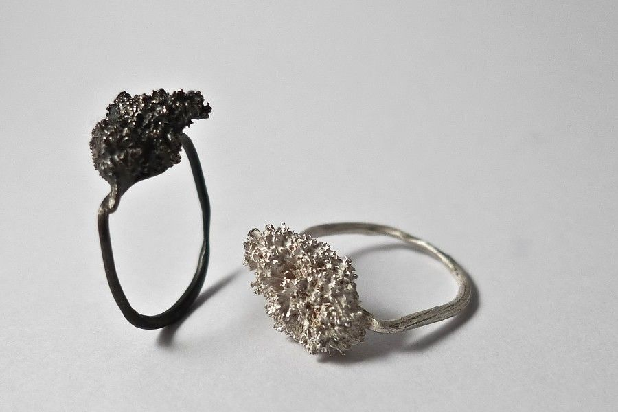 Organic Rings Contemporary Jewellery Design Art Jewelry Laura Bennett Modern Jewelry Contemporary Jewellery Contemporary Jewelry Design