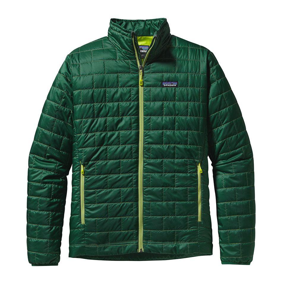Patagonia Nano Puff Jacket Mens outdoor jackets, Jackets