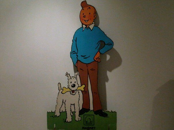 Tintin Magnet standee