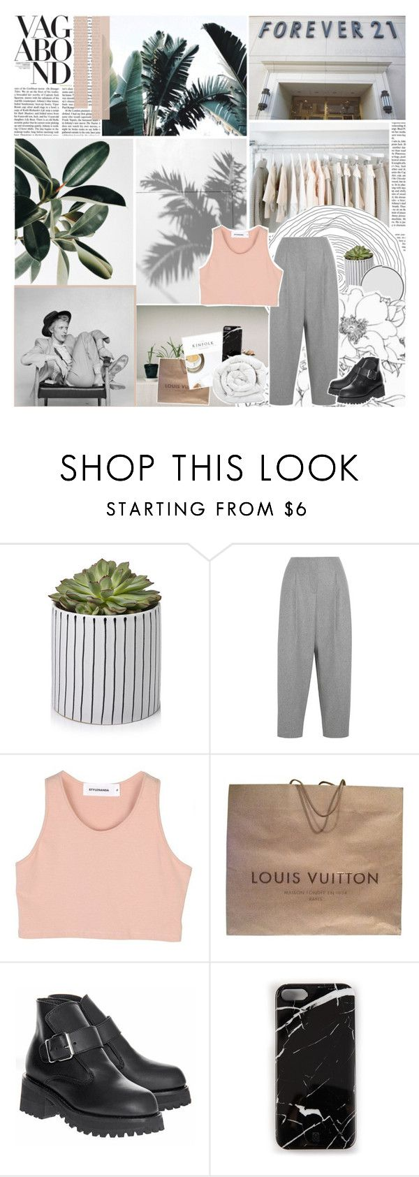"""""""&☾You got to lose to know how to win"""" by not-an-extraordinary-girl ❤ liked on Polyvore featuring Vanity Fair, Karl Lagerfeld, Acne Studios, StyleNanda, Louis Vuitton, Vagabond, Opening Ceremony, Case Scenario and Brinkhaus"""