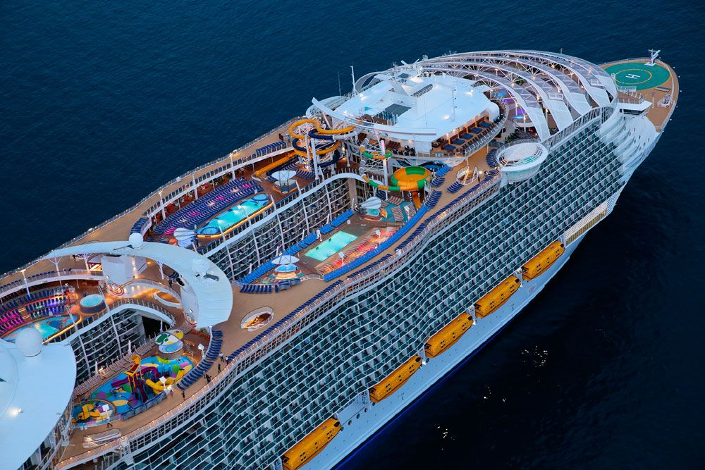 Can The Biggest Cruise Ship Ever Look Any Better?