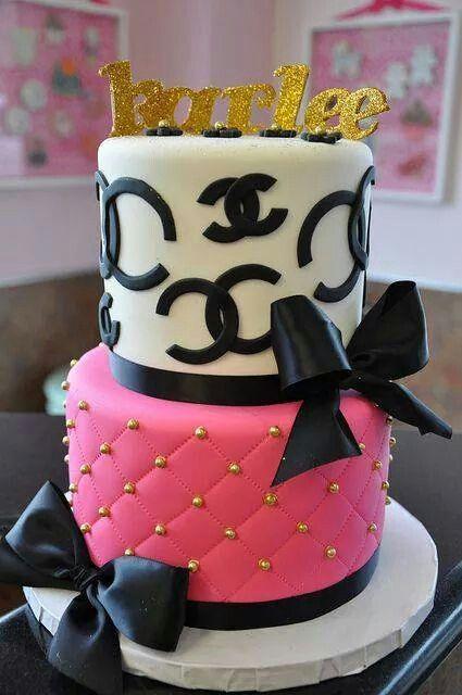 ♥ Chanel Cake
