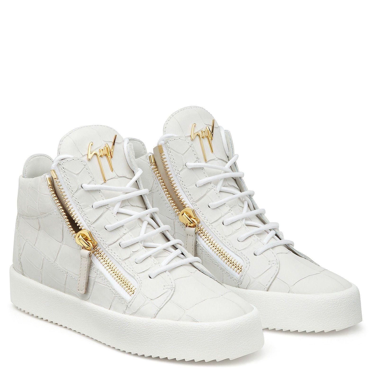 3655c05eccad1 Giuseppe Zanotti Kriss - White Us10,5 (It40,5) | Products | Sneakers ...