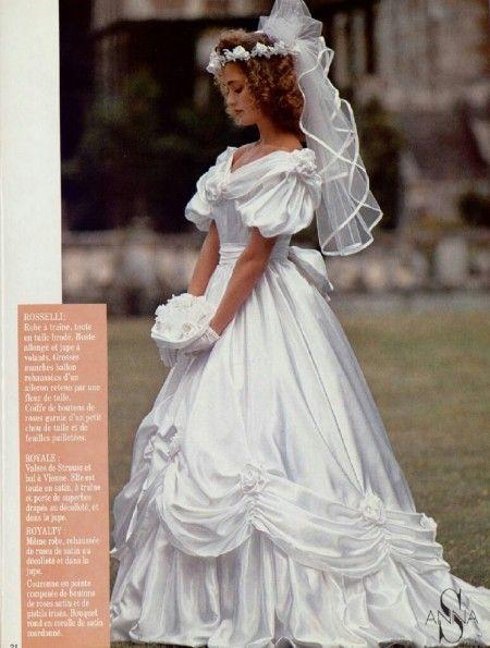 Collection pronuptia 1989   Robe de marié