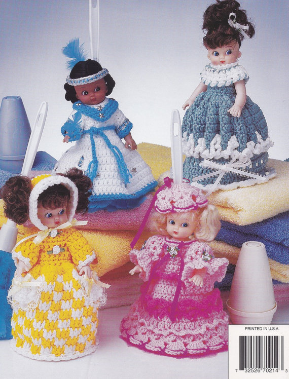 Duster Dolls & More, Annie\'s Attic Crochet Doll Clothes Pattern ...