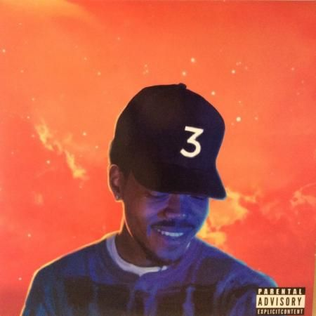 Chance The Rapper Coloring Book 2lp Vinyl Digital Com Shop En Coloring Book Album Cool Album Covers Mixtape Cover