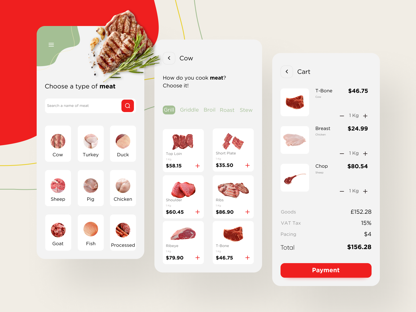 Meat Shop by Pegah Navid