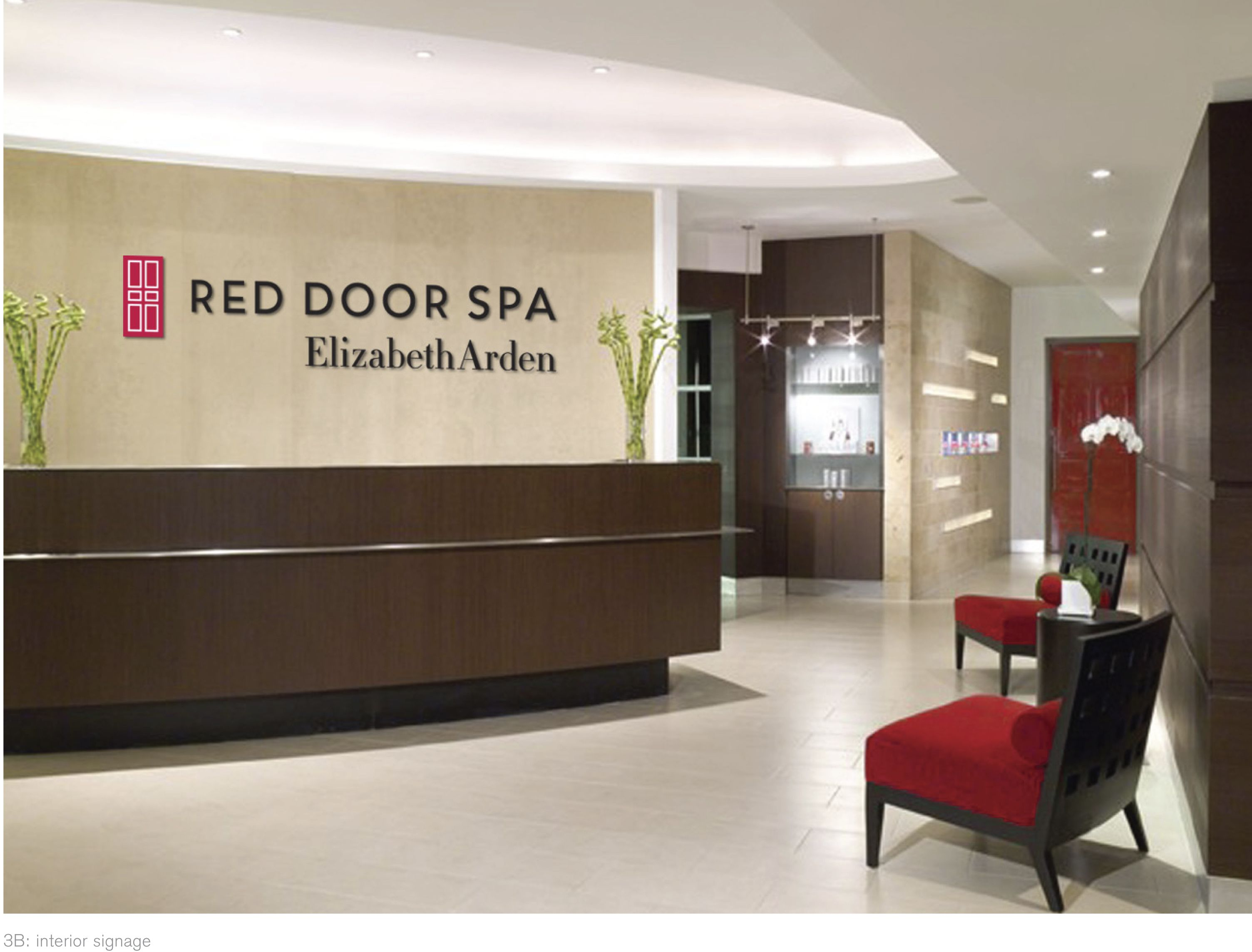 New Red Door Spa Logo Spa Branding Pinterest Spa Logo Spa And