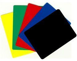 Durable Plastic Poker/blackjack Cut Cards - Set of 5 Different! by CSC. $6.69. Plastic cut cards are used in blackjack to divide the playing cards in a dealing shoe and to remind the dealer when it's time to reshuffle.  In poker, the cut card prevents exposing the bottom card of a deck of playing cards.. This is why it is advisable to use a cut card placed under the bottom of the deck preventing the bottom card from being seen.  If wanting a specific color send us an e...