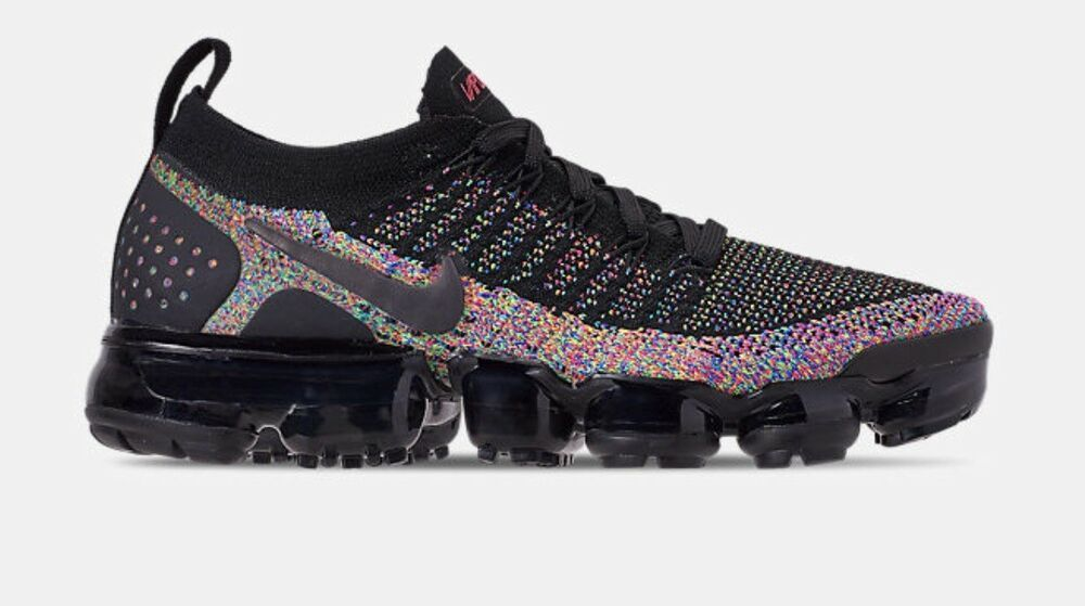 sports shoes 356a5 533f1 Nike Womens Air Vapormax Flyknit 2.0 Black/Racer Pink/Racer ...