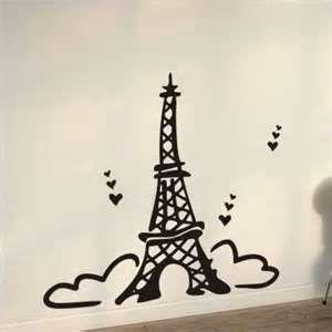 Wall Decals Canada Stickers Cartoon Paris Eiffel Tower Eiffel
