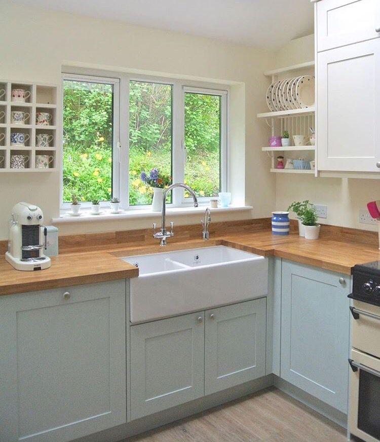 Ese tipo de fregadero decoraci n del hogar en 2019 for Ventanas de aluminio para cocina