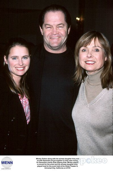 Micky Dolenz With Daughter Ami And Ex Wife Samantha