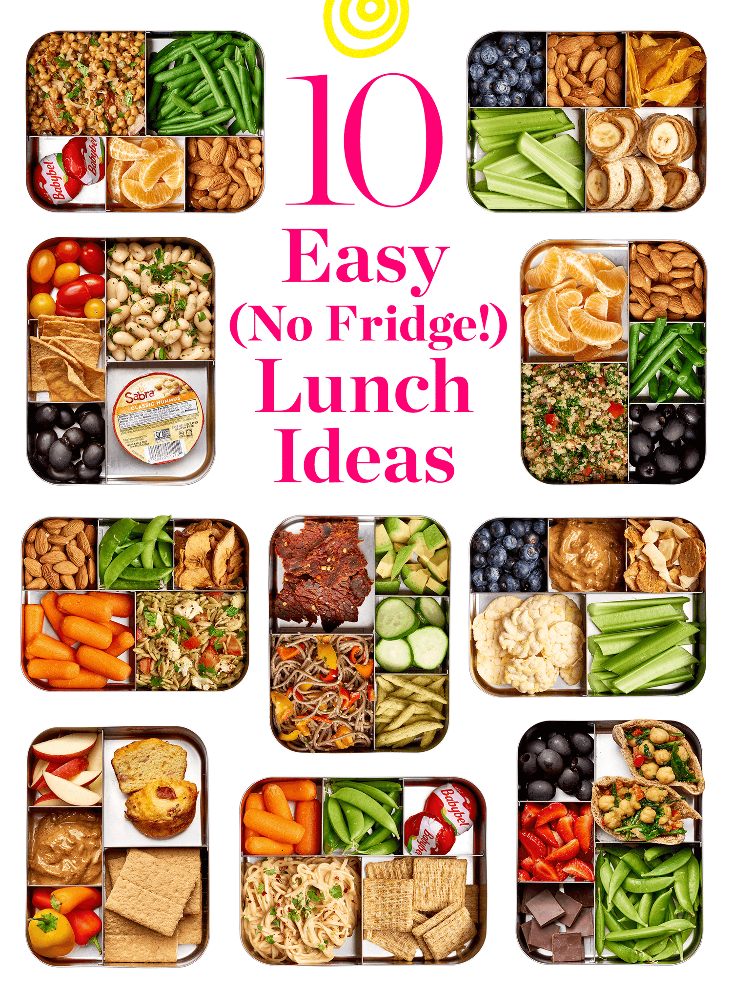 10 Easy Lunches That Don T Need To Be Refrigerated In