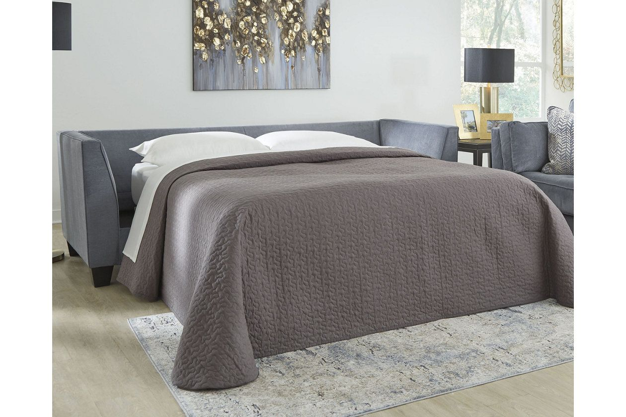 Best Sciolo Queen Sofa Sleeper Ashley Furniture Homestore 400 x 300