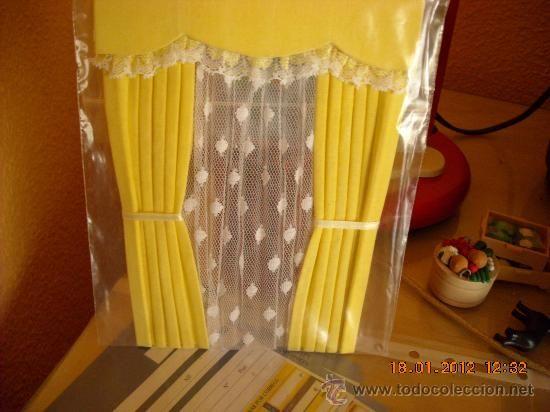 cortinas para casas de muecas