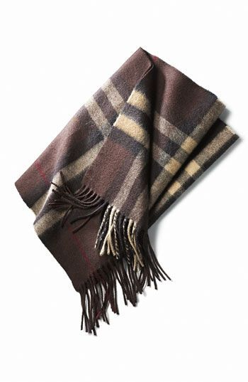 Burberry Giant Check Cashmere Scarf: Absolutely love this scarf, I have had mine for a decade and it still looks fabulous and brand new...given I did not to wear it until I moved from Texas to NJ!