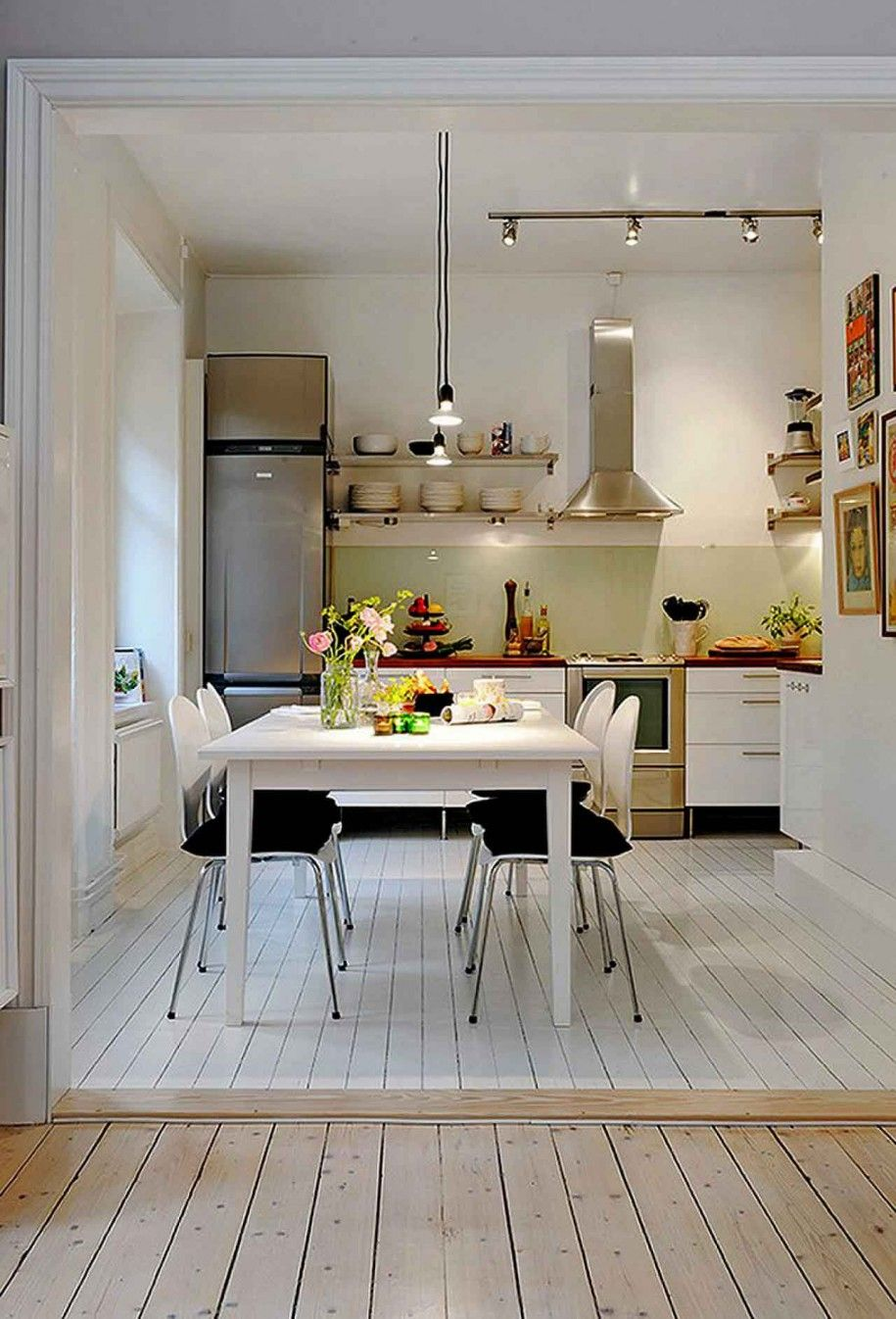 L Shaped Open Plan Kitchen Living Dining Google Search Small