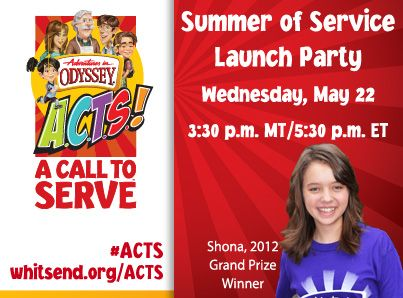 Adventures in Odyssey free episode download and summer service challenge