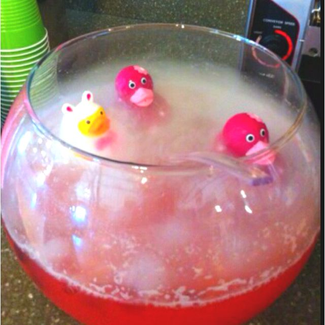 breast cancer baby showers frozen shower ideas forward pink punch for