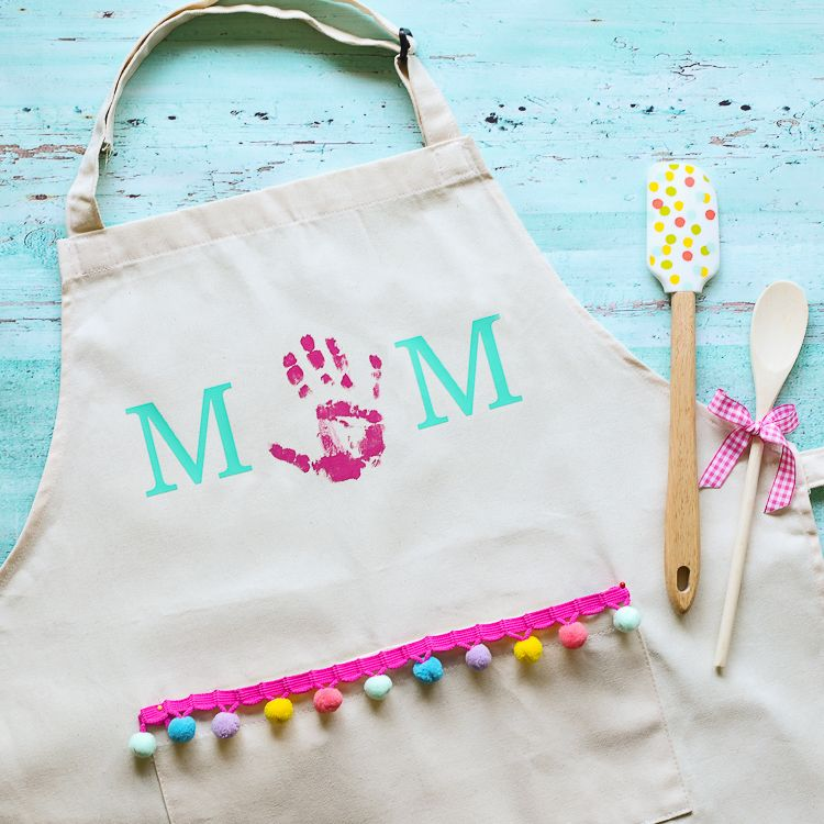 Mothers Day Handprint Apron The Craft Patch in 2020