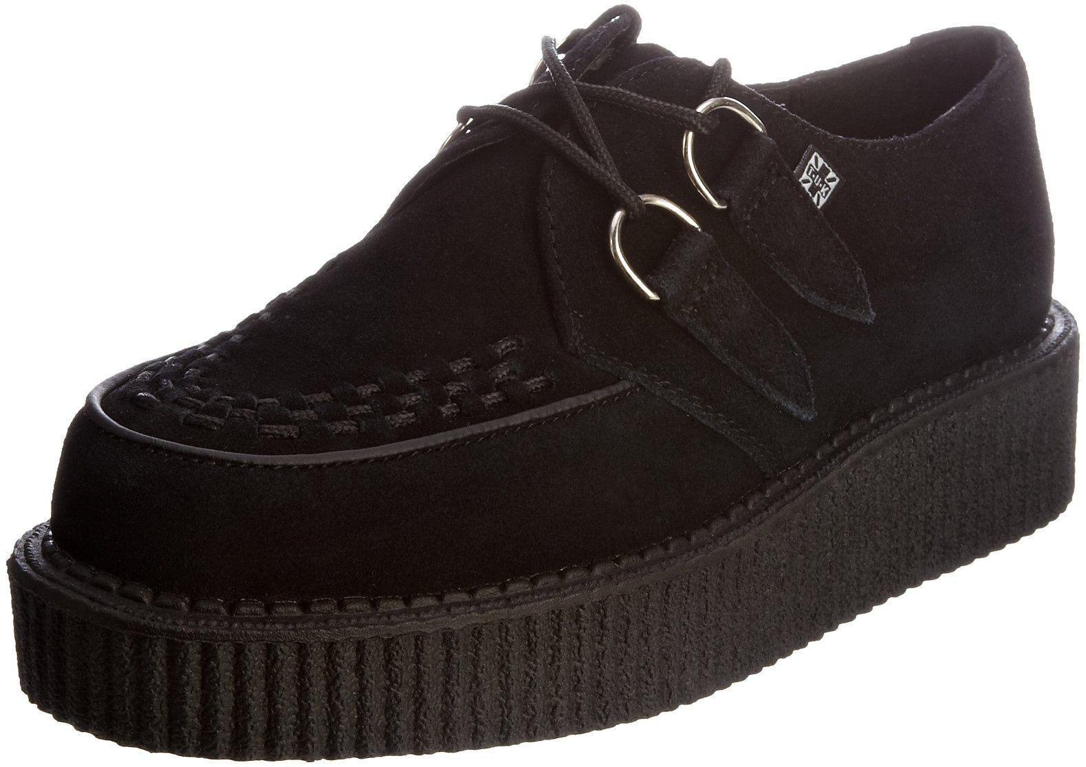 Viva Hi Sole Creeper, Sneakers Basses Mixte Adulte, Noir (Black), 44 EU (11 UK)T.U.K.