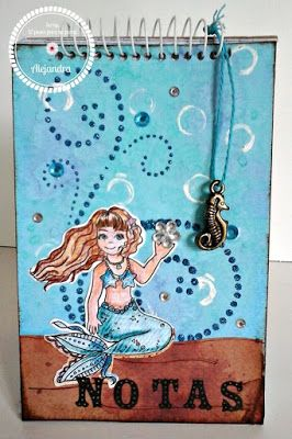 Scrap, 12 pasos para no parar! (non stop scrap): Reto # 17 Sirenas
