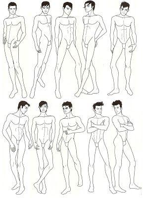 Donno W B Desenhar Homens Croquis Figure Sketching