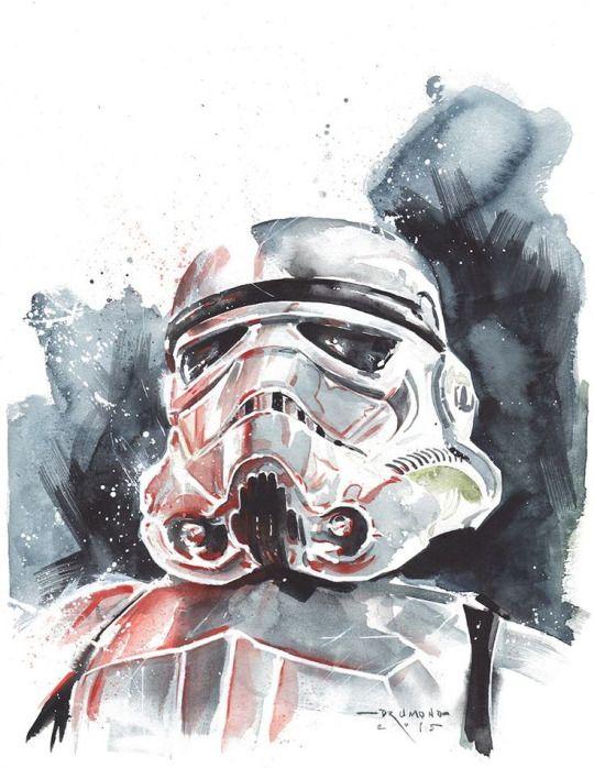 Stormtrooper By Ricardo Drumond Star Wars Artwork Star