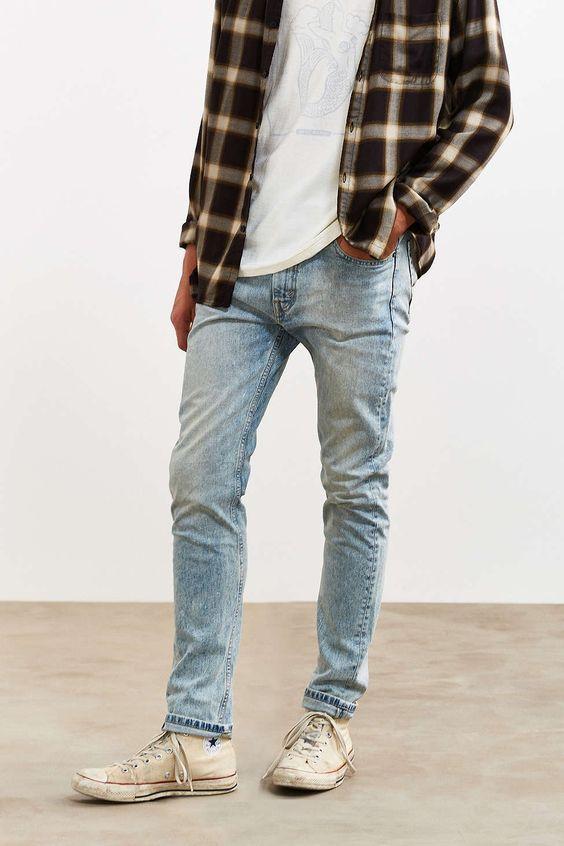 Levi S 510 Painter Job Skinny Jean Jeans Outfit Men Party Outfit Men Flannel Outfits Men