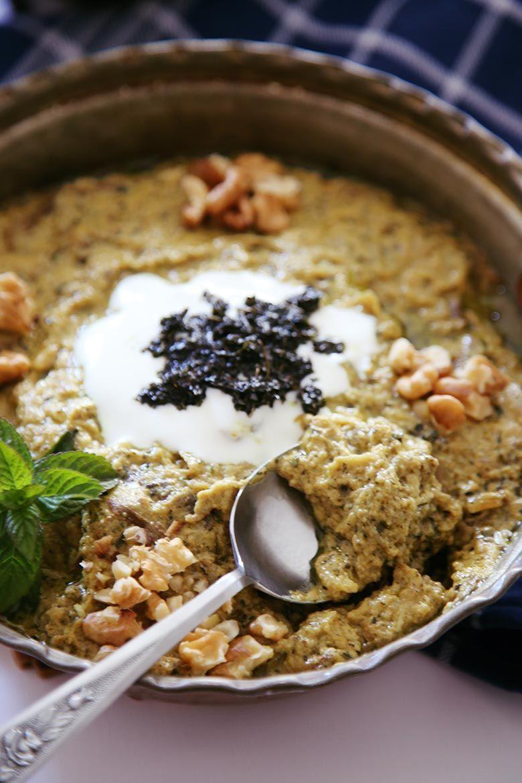 Photo of Simple and Easy Kashke Bademjan Recipe (Grilled Eggplant Dip)
