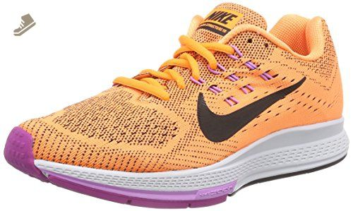 nike womens air zoom structure 18 running trainers 683737 sneakers shoes  (us 9, bright