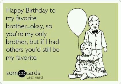 Funnies Happy Birthday Brother Funny Quotes