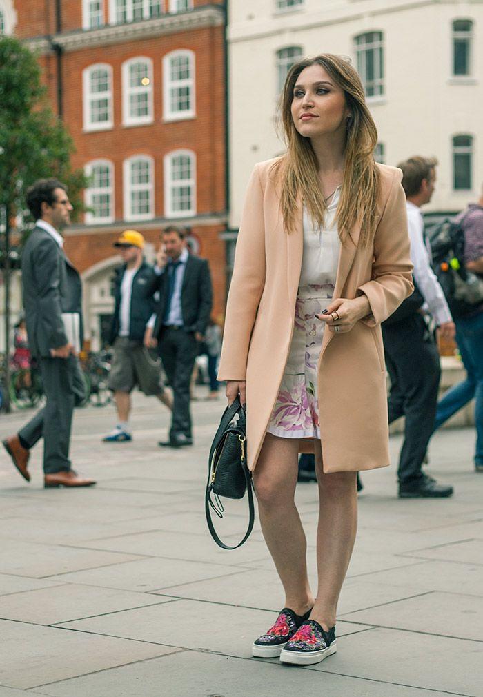 Look da Lu: tons pastel em Londres