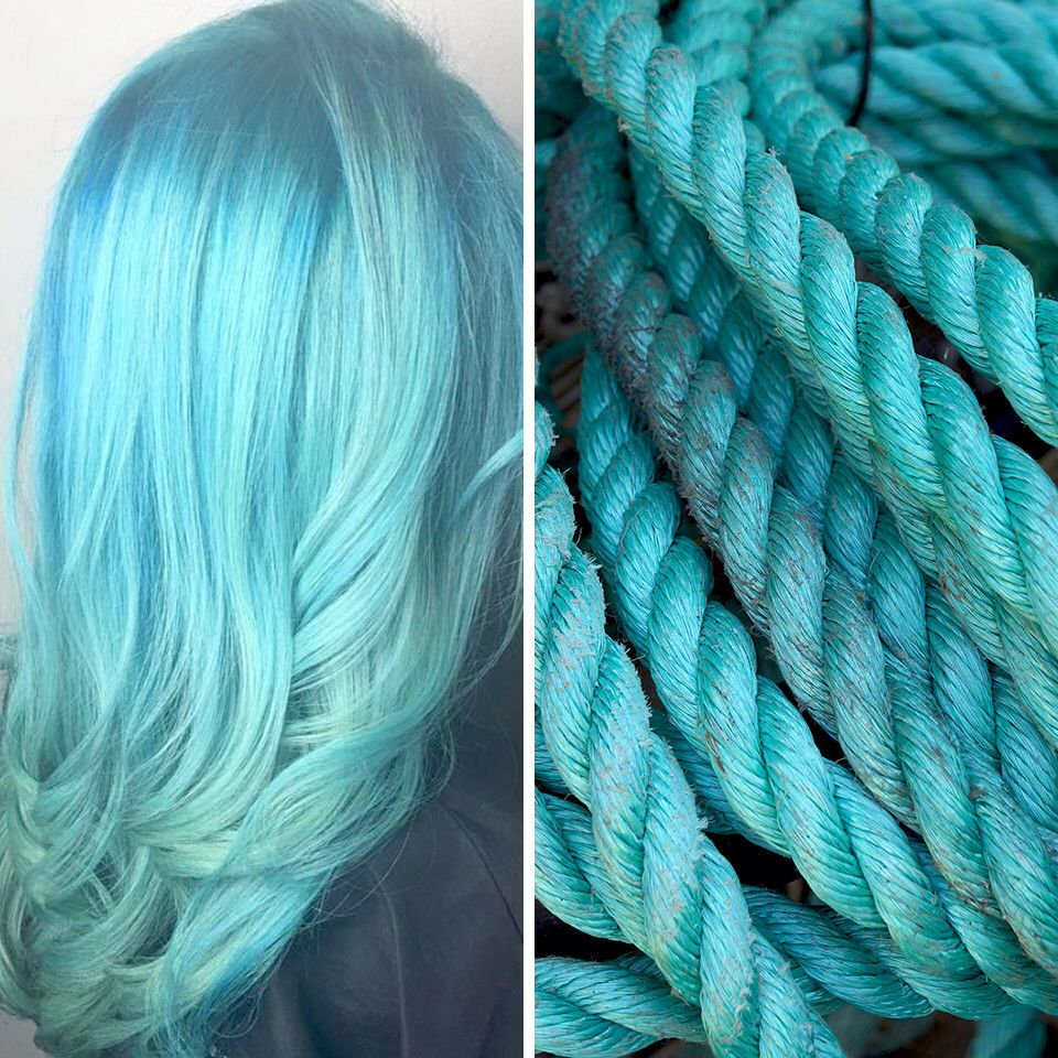 Teal Signifies Creativity Strength What Does Your Hair Color Say