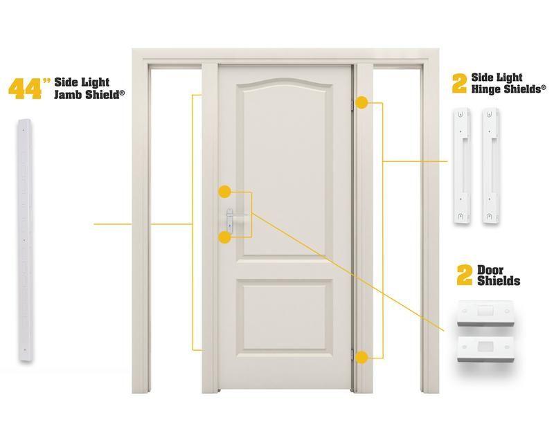 Door Armor Max Combo Set Door Lock Security Armor Concepts With Images Mobile Home Doors Side Lights Home