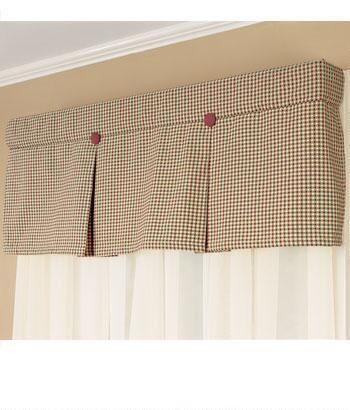 Colebrook Pleated Valance   Country Curtains®