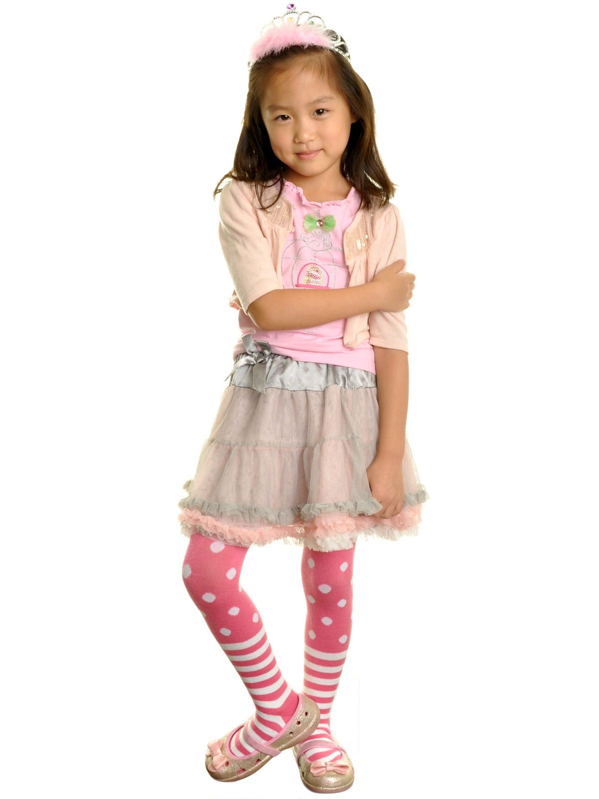 b67c8a81e Angelina Girl s Colorful Patterned Winter Tights (6-Pack) Colorful ...