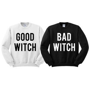 Best Friend Matching Halloween Shirts, Halloween Matching Shirts For Women, Good Witch and Bad Witch Shirts, Matching Outfits For Halloween